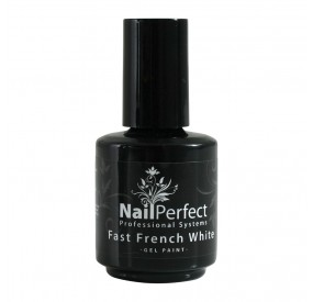 NP Gel Paint Fast French White