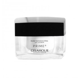 Gelamour PRIME New Builder Gel Extreme White